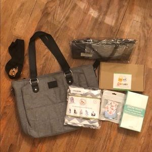 Handbags - NEW Diaper Bag and All New Baby Items